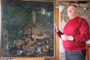 Борис Габараев: «Когда становилось трудно, я брал кисть, перенося на холст все свои эмоции и чувства…»