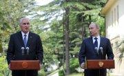 Президенты Л.Тибилов и В.Путин. От встречи к встрече