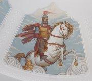 Спорные образы национального театра или кто ответит за вольную трактовку изображения Уастырджы в росписях Госдрамтеатра