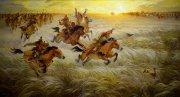 Как царь Дарий на скифов пошел воевать