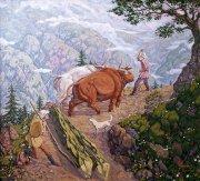 Образ быка в сакральных традициях осетин
