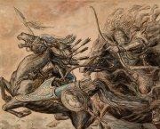 Кони в нартском эпосе