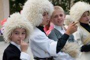 Уроки национальной хореографии в школах Южной Осетии